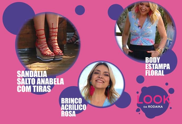 mistura com rodaika look da rodaika natal (Foto: Reprodução RBS TV)