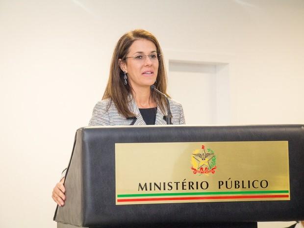 Luciana Lóssio, ministra do TSE, falou sobre a participação feminina na política (Foto: MPSC/Divulgação)