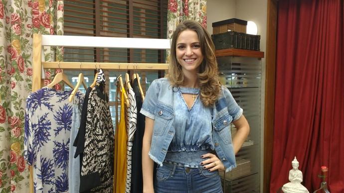Flávia Pinã dá dica de jeans para três tipos de corpo (Foto: Raquel Gonzalez/Gshow)