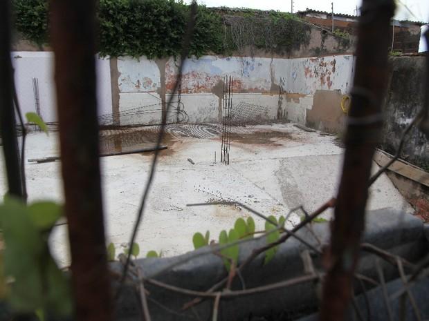 Casa onde Aluísio Azevedo morava não tem mais cômodos (Foto: De Jesus/O Estado)
