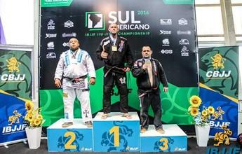 Atleta de RO é ouro no Sul-Americano de Jiu-Jitsu, categoria absoluto, SP