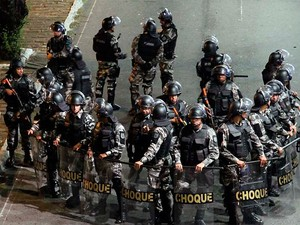Polícia Militar do RN (Foto: Canindé Soares)