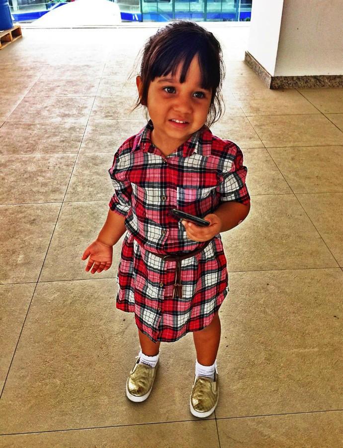 Filha de Jonathan Costa, Maithe celebrou três anos (Foto: Arquivo Pessoal)