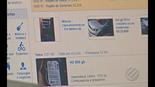Bandidos usavam a internet para aplicar golpe em Redenção, no Pará