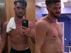 'BBB 17': Marcos ganha 5kg em dez dias e perde abdômen trincado; fotos