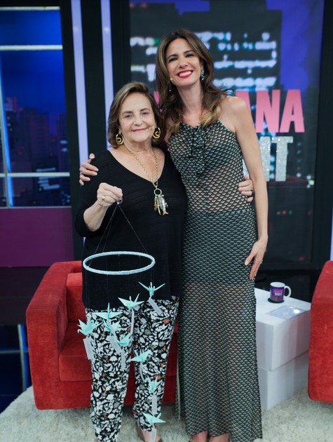 Lucinha Ararújo e Luciana Gimenez (Foto: Fernanda Simão)