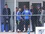 Tite encontra Neymar e Gabigol em visita à seleção olímpica na Granja