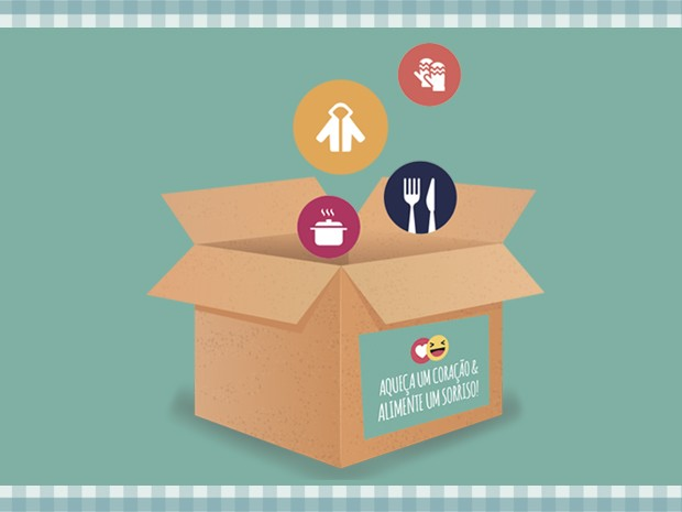 Inverno Solidário pretende arrecadar roupas e alimentos para instituições carentes (Foto: divulgação)