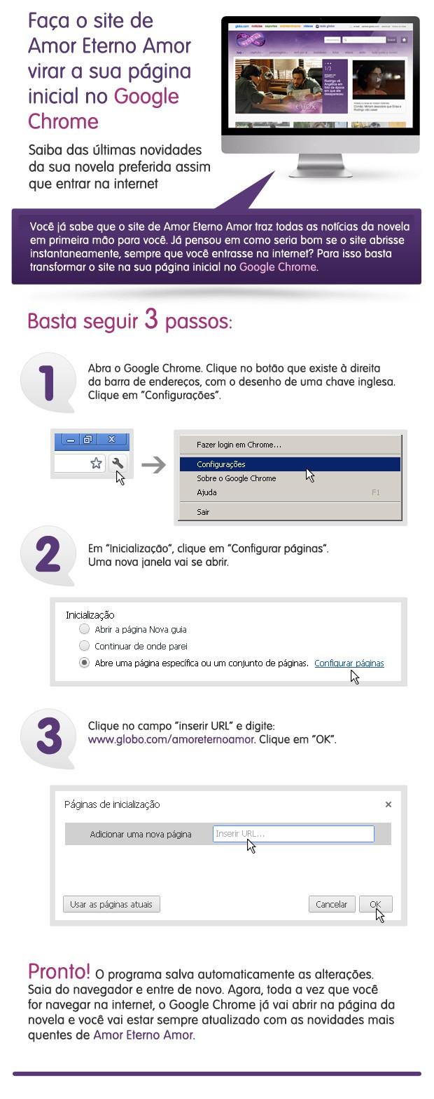 Imagem Amor Chrome (Foto: Amor Eterno Amor/TV Globo)
