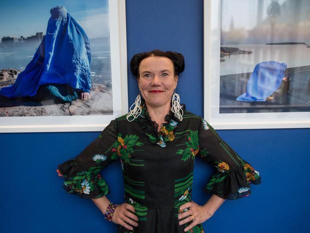 """Exposição """"Burka"""" é da artista plástica e escritora finlandesa Rosa Liksom  (Foto: Divulgação)"""