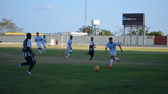 Santos-AP e Londrina-PR jogam no estádio 'Zerão' pela Série D, em Macapá (Foto: Jonhwene Silva/GE-AP)