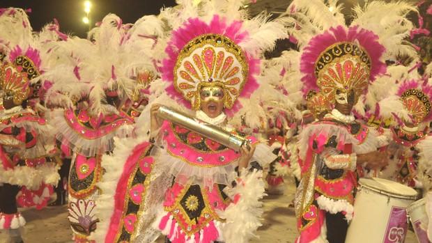 Bloco tradicional 'Os Vampiros' leva o título do carnaval de São Luís (Divulgação/Prefeitura de São Luís)