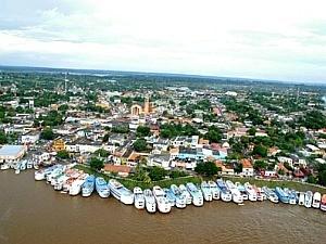 Município de Parintins, distante 420 km de Manaus (Foto: Divulgação/ Agecom)