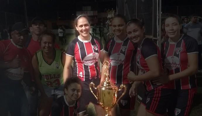Mayara Santos, jogadora do São Paulo Star Pink (Foto: Arquivo Pessoal )