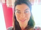 Joana Balaguer faz selfie de cara limpa e recebe elogios: 'Linda demais'