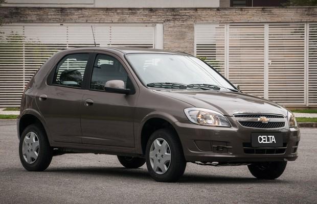 Chevrolet-Celta (Foto: Divulgação)