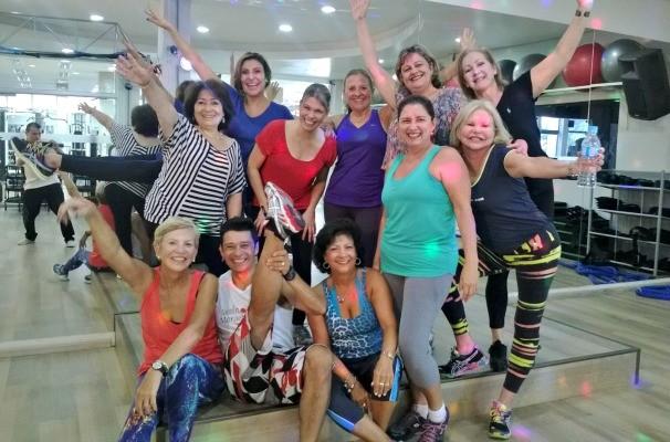 Vida e Saúde dança (Foto: Reprodução/RBS TV)