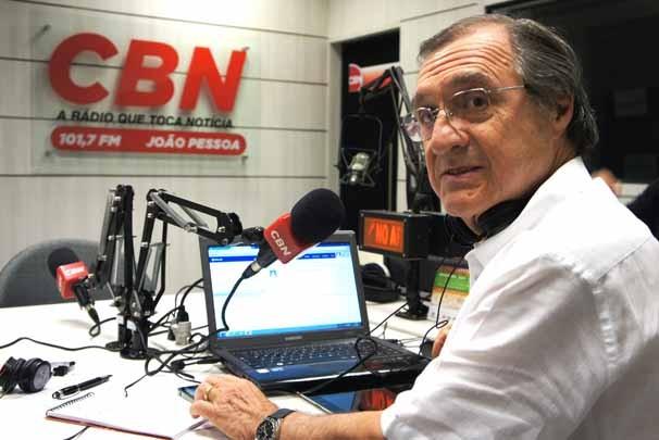 Carlos Alberto Sardenberg (Foto: Alysson Bernardo/TV Cabo Branco)