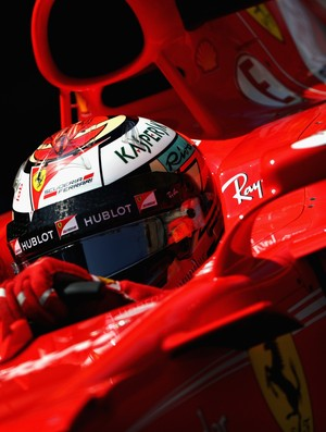 Kimi Raikkonen marca a pole para o GP de Mônaco