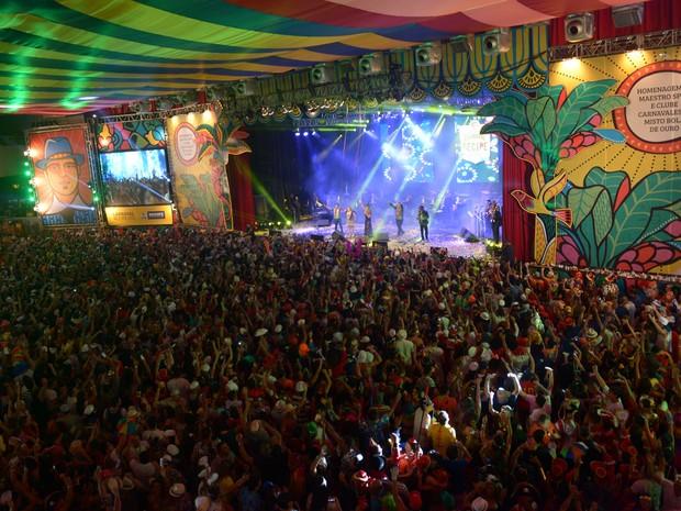 Baile Municipal do Recife realiza sua 51ª edição neste ano de 2015 (Foto: Luka Santos / G1)