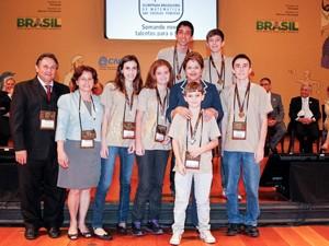 Dilma Rousseff participa de premiação de alunos da Olimpíada Brasileira de Matemática das Escolas Públicas  (Foto: Roberto Stuckert Filho/PR)