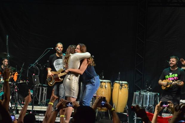 Preta Gil e Ivete Sangalo (Foto: Felipe Souto Maior / AgNews)