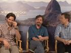 Elenco de 'Se beber, não case 3' fala do filme; veja vídeo com entrevistas