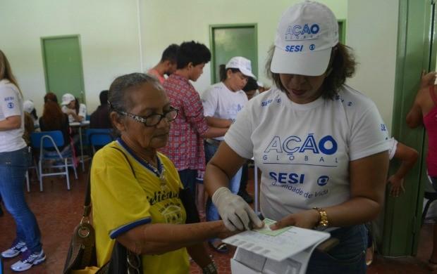 Emissão de documentos foi um dos serviços mais procurados na Ação Global (Foto: Jorge Abreu/Rede Amazônica)