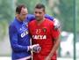 """Diego Souza nega evolução lenta do Sport: """"O que importa é como acaba"""""""