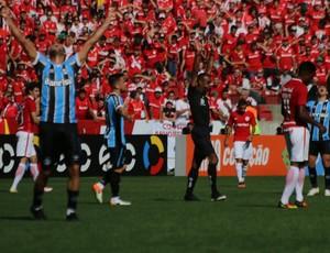 Árbitro encerra Gre-Nal com vitória para o Grêmio