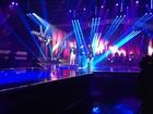Claudia Leitte e Ivete Sangalo ensaiam juntas para o 'The Voice Brasil'