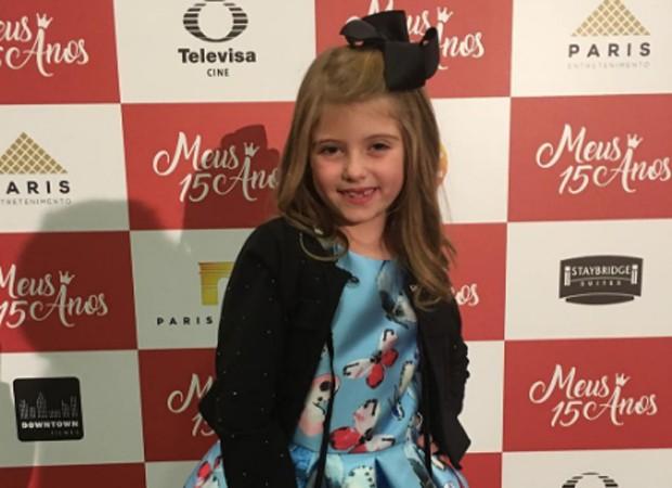 Lorena Queiroz em evento de lançamento de 'Meus 15 anos' na tarde de segunda-feira (12) (Foto: Reprodução/Instagram)