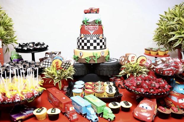 Decoração da festa de aniversário de Enzo, filho de Luisa Mell (Foto: Manuela Scarpa/Brazil News)