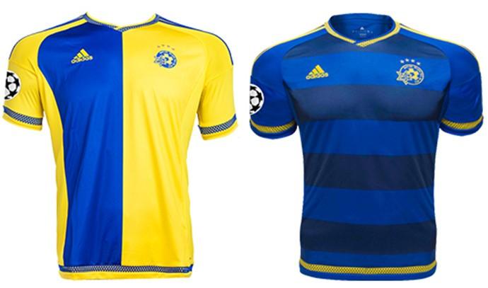 Camisas Champions maccabi