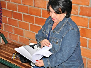 Aposentada pretende fazer trabalho voluntário.  (Foto: Yarima Mecchi / G1 MS)