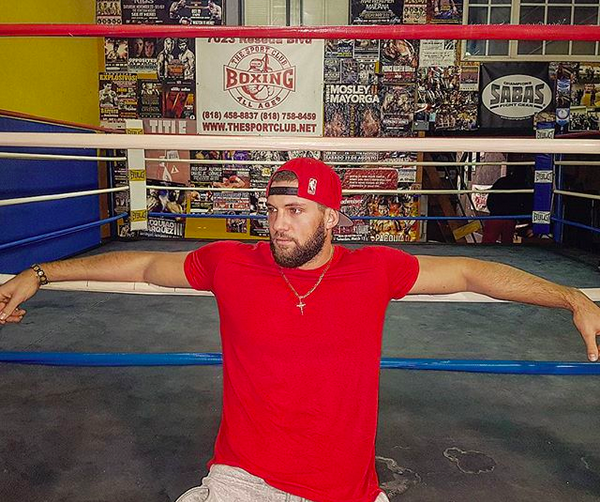 O lutador romeno Florian Munteanu vai interpretar o filho de Ivan Drago em Creed 2 (Foto: Instagram)