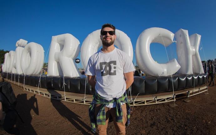 Otávio Soares, de Iturama (MG), no João Rock 2016 (Foto: Mateus Rigola/Gshow)