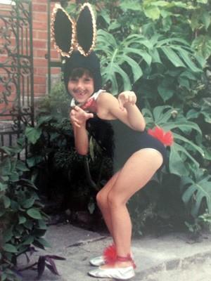 Fernanda Pontes quando criança (Foto: Arquivo Pessoal)