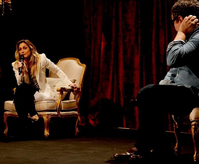 Amora Mautner e João Emanuel Carneiro falam sobre a trama de A Regra do Jogo (Foto: Ellen Soares/TV Globo)