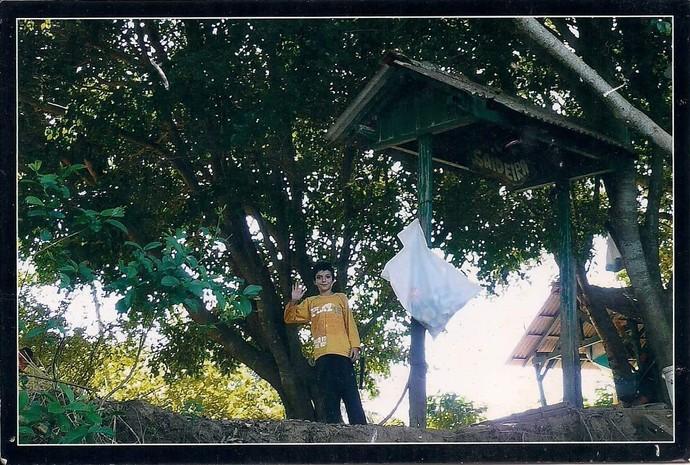 Wagner Barreto já morou em outra ilha, a ilha Mutum, no município de Porto Rico (Foto: Arquivo pessoal)
