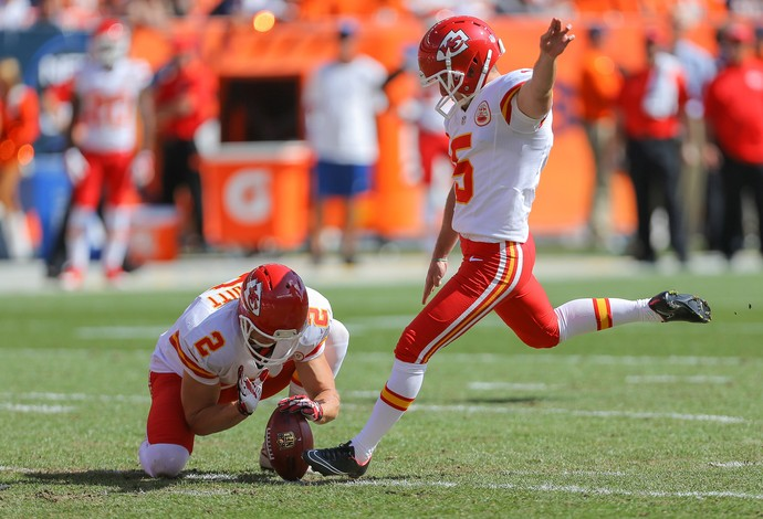 NFL Cairo Santos Kansas City Chiefs  (Foto: Agência Getty Images)