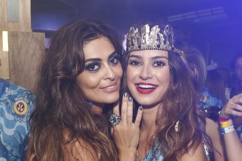 Juliana Paes e Thaila Ayala (Foto: Divulgação/AgNews)