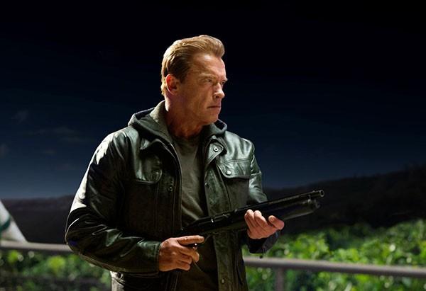 Arnold Schwarzenegger em O Exterminador do Futuro: Gênesis (2015) (Foto: Divulgação)