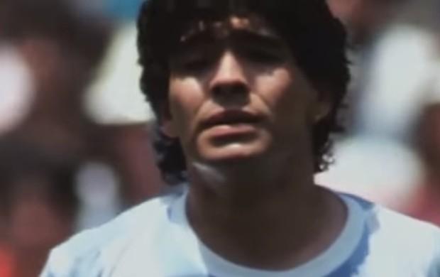BLOG: E se? Vídeo recria final da Copa de 86 com Maradona abandonando a seleção