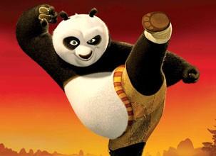 Kung Fu Panda é um dos desenhso deste sábado, da TV Globinho (Foto: Divulgação/Reprodução)