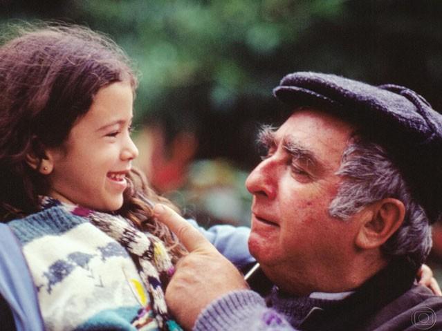 Caroline Pavanelli e Elias Gleizer em Sonho Meu, 1993 (Foto: Nelson Di Rago / Gshow)