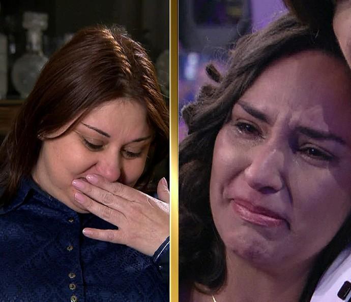 Jamile agradece o órgão que recebeu da filha de Ágatha (Foto: TV Globo)