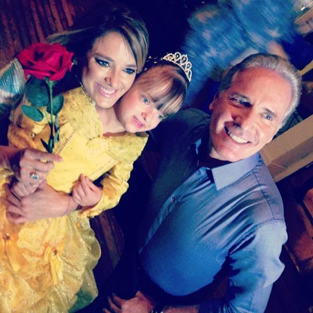 Ticiane Pinheiro e Roberto Justus com a filha, Rafaella Justus (Foto: Instagram/ Reprodução)
