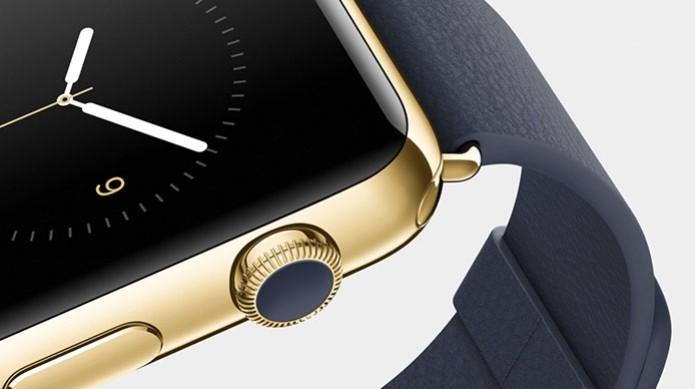 Apple Watch de ouro poderá ser vendido pelo equivalente a R$ 12 mil (Foto: Divulgação) (Foto: Apple Watch de ouro poderá ser vendido pelo equivalente a R$ 12 mil (Foto: Divulgação))