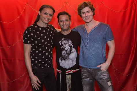 Silvero Pereira,  Danon Lacerda e Gabriel Canella (Foto: Divulgação)